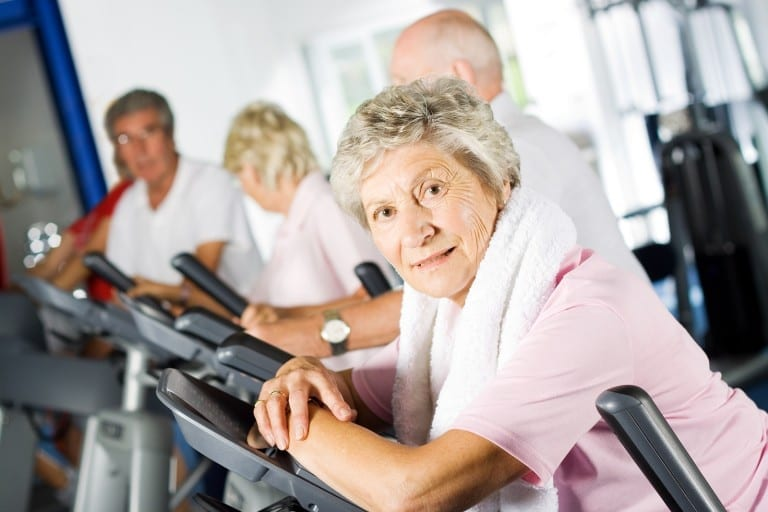 best senior workouts for residents