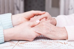 Providing comfort with hospice care for Alzheimer's disease