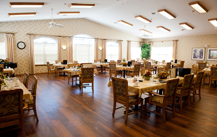 coventry meadows healthcare dining room